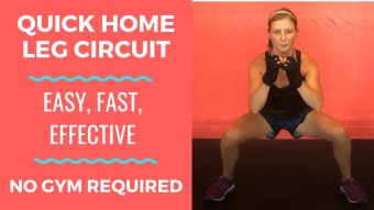 8 Body Weight Exercise Workout Routine For Legs [No Gym Required